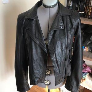 Fantastic Madewell leather moto jacket